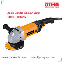1100w 8000rpm 125mm/150mm qimo power tools china angle grinder