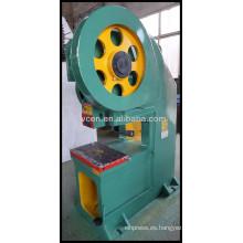 Máquina de punzonado mecánica J21S 100T
