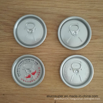 500ml Beer 2PCS Can with 57mm 206 Rpt Eoe Aluminum Lids