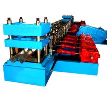 2 petit pain de rail de garde de grand axe de deux vagues formant la machine
