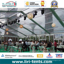 9X18m Gute Qualität Transparentes Zelt für Ereignis im Freien