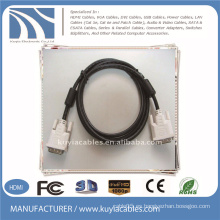DVI a DVI 18 + 1 macho a cable macho con 2 Ferrit 5FT Negro