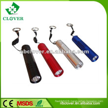 12000-15000MCD with strap mini cheap aluminum led flashlight