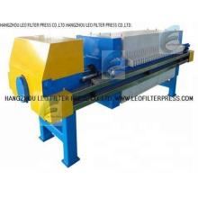 Prensa del filtro de la placa empotrada de la cámara, filtro de la cámara de la placa empotrada Presione del filtro prensa Leo
