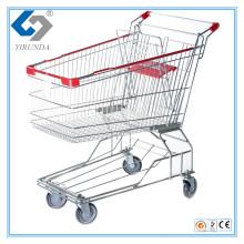 100L Asia Style Einkaufswagen mit Metallrahmen