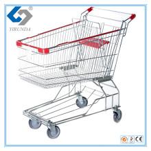 100L Asia Style Shopping Trolley with Metal Frame