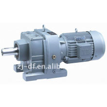 DOFINE R series helical gearbox small gear reducer motor