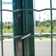 PVC Coated Green Euro Garden Fence Dijual