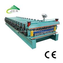 Doppelschicht-Stahldach-Wand-Blatt-Rollenmaschine