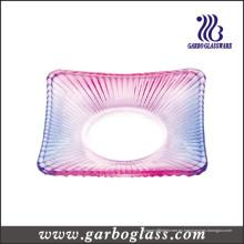 Placa de vidrio cuadrada (GB1707H-3 / TS)