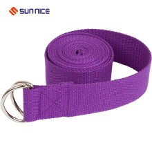 Verstellbarer Yoga Stretch Strap D-Ring Gürtel