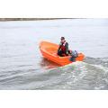 Venda popular pouco peso 3,1 m pequena barco PE plástico barcos de pesca