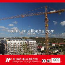 CE,ISO certificated Beijing Jiuhong Brand flat top QTZ tower crane
