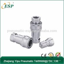 Accouplement rapide hydraulique de type fermé (acier inoxydable)
