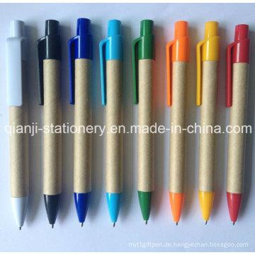 2015 heißen Verkauf Papier Kugelschreiber (E1006)