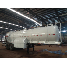 Tank Corrosion Protection Sewage Truck Semi Trailer