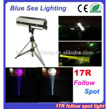 2015 hotsale factory price 17R 350W follow spot stage light