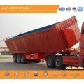 3-axle rollover dump semi trailer