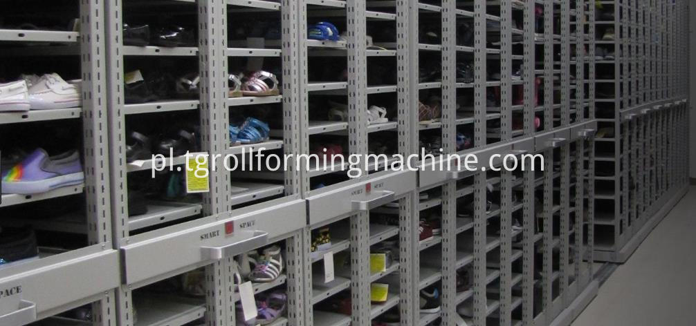 Shelving Support Posts Roll Forming Machine