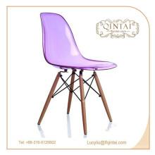 Прочный дешевый кристально пластиковый офисный стул для продажи