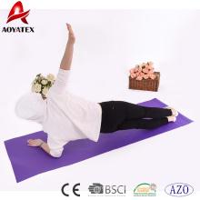 2018 novos produtos quentes promoção fora da porta da esteira da ioga do PVC