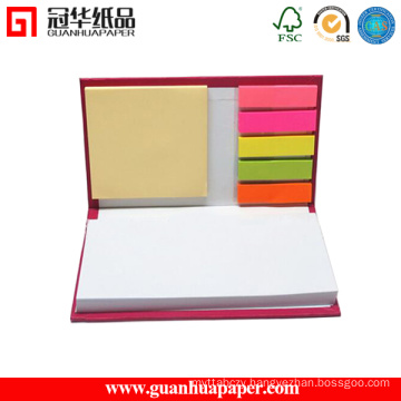 Hardcover Custom Combined Sticky Notes with Stickies