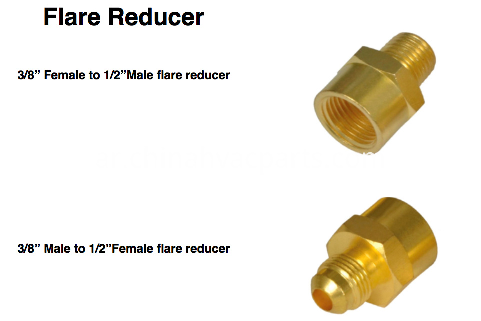flare reducer adapter