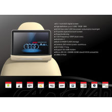 High Pixel Active Headrest Dvd Player With Led Backlight