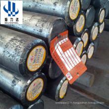 ASTM4140 4150 8620 8630 Barre ronde en alliage d'acier