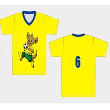 Cheap Blank Personalizar Niños Fútbol Jersey Fútbol Uniforme Juventud