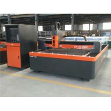 Máquina de corte por láser de fibra de acero 1500 * 3000mm de metal