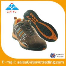 Chaussures décontractées en cuir marron pour hommes