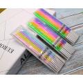 Vela do lápis do aniversário de 4-Colored do diâmetro de 0.37CM