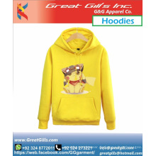 Pokemon Animierte Sublimation Custom Design Hoodie für Mädchen und Frauen