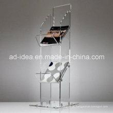 Acryl Bücherhalter / Acryl Ausstellungsstand