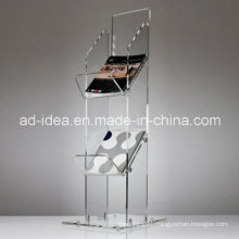 Acrylic Book Holder/ Acrylic Exhibition Stand