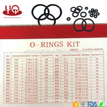 Pack Hardware NBR 70 Rubber O Ring Kit Metric O-Ring Box AS568 / metric/JIS NBR Oring Repair Set