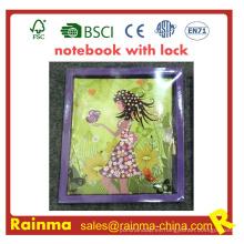 Cuaderno con regalo para papelería Lock for Kids