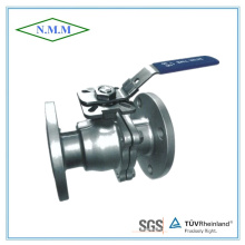 Stainless Steel ANSI High Mounting Pad Flanged Ends Ball Valve