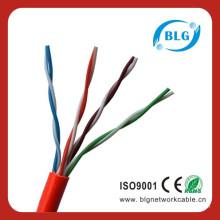Провода и кабели Cat5e UTP 24AWG 4 пары данных Коммуникационные кабели