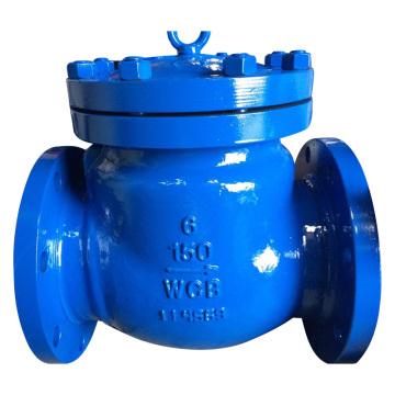 ANSI / Amse Фланцевый обратный клапан, литая сталь