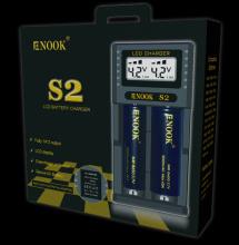 newst 2017 Enook S2 φορτιστής μπαταρίας