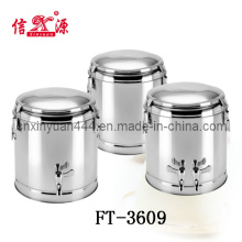 Stainless Steel Keep Warm Bucket Set (FT-3609)
