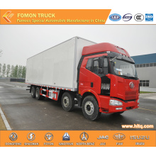 FAW 8X4 320HP 54m3 large refrigerated truck
