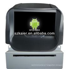 Leitor de DVD do carro do sistema de Android para 2013 FORD Ecosport com GPS, Bluetooth, 3G, iPod, jogos, zona dupla, controle de volante