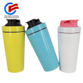 Metall Shaker Flasche Mixer Protein Shaker Fitness Flasche für Gym