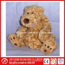 Коричневый плюшевый мишка игрушки для ребенка подарок