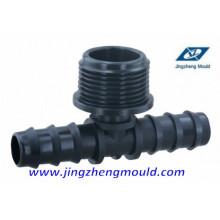 Moule moulage / moulage de tuyau de pièce en t mâle de PP 20mm