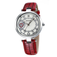 SKONE 9255 special design PU Leather Band Wrist Watches for ladies