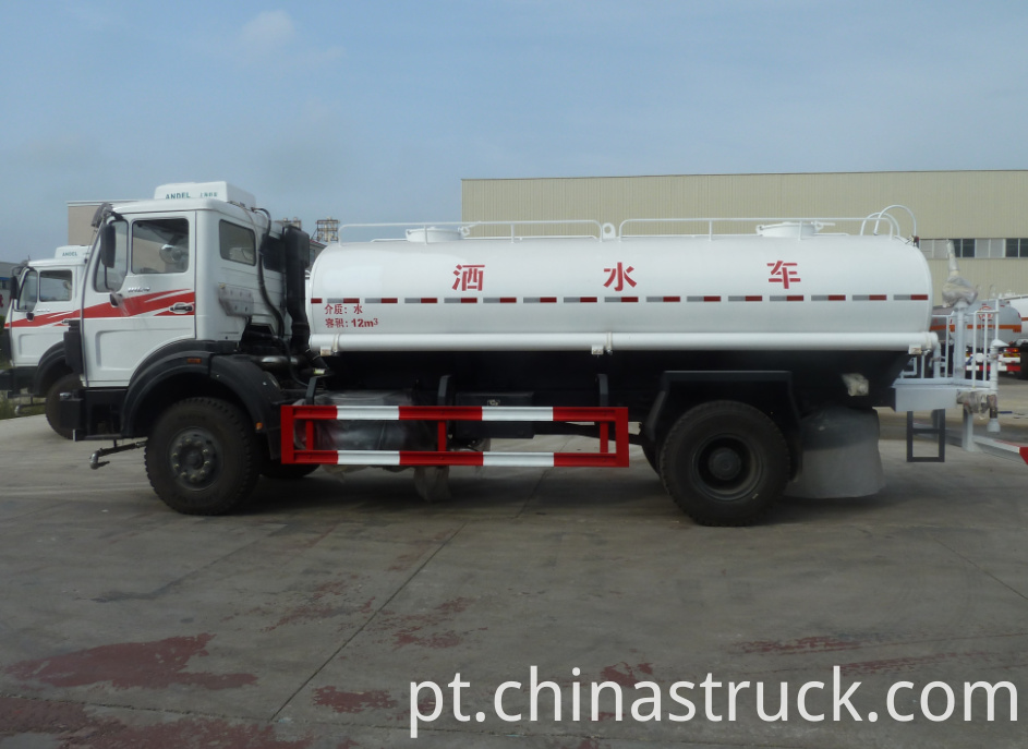 BEIBEN heavy duty watering truck